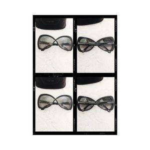 TOM FORD ICONIC CROSSOVER DETAIL BLACK SUNGLASSES